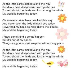 SCiCtT song lyrics trippy flowers